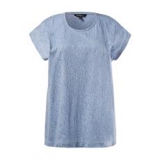 Große Größen Ulla Popken Damen  Shirt, Blau, Gr. 42/44,46/48,50/52,54/56,58/60,62/64
