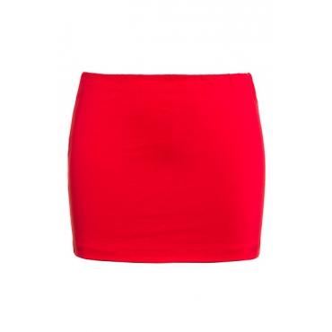 Ulla Popken Damen  Shirt-Verlängerung, 2er-Pack, Stretch, rot, rot-gestreift, Gr. 58/60, Mode in großen Größen