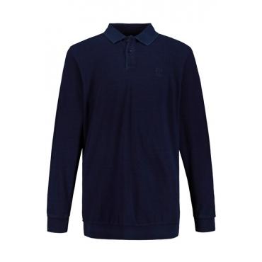 JP1880 Bauch-Poloshirt Herren, navy, Mode in großen Größen
