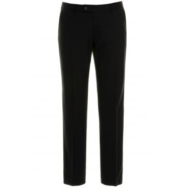 JP1880  Bauchfithose Herren 62, schwarz, Wolle, Mode in großen Größen