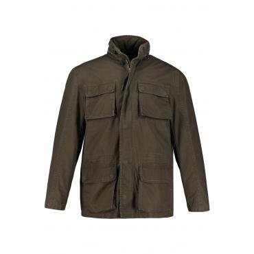 JP1880  Fieldjacket Herren XXL, khaki, Baumwolle, Mode in großen Größen