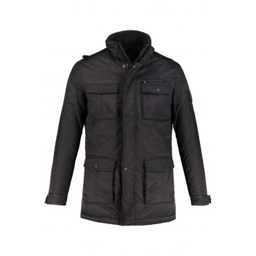 JP1880 Funktionsjacke Herren, schwarz, Polyester, Mode in großen Größen