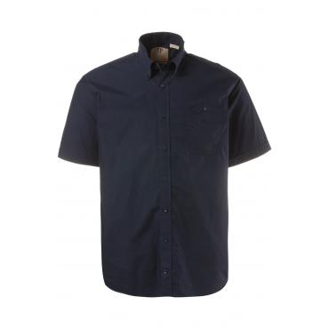 JP1880  Halbarm-Hemd Herren XXL, navy, Baumwolle, Mode in großen Größen