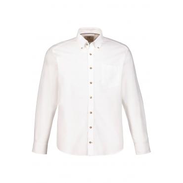 JP1880  Hemd Herren XXL, weiß, Baumwolle, Mode in großen Größen