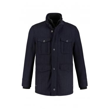 JP1880  Jacke Herren XXL, navy, Polyester, Mode in großen Größen