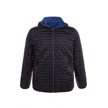 JP1880 Jacke Herren, dunkelmarine/royalblau, Polyester, Mode in großen Größen