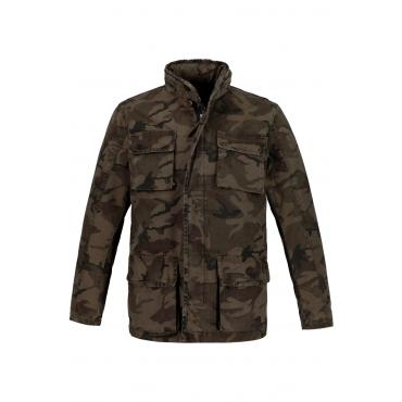JP1880  Jacke Herren XL, khaki, Baumwolle, Mode in großen Größen