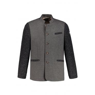 JP1880  Janker Herren XXL, grau, Polyamid, Mode in großen Größen