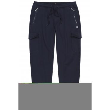 JP1880  Jogginghose Herren XXL, dunkel-marine, Baumwolle, Mode in großen Größen