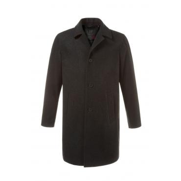 JP1880 Mantel Herren, anthrazit, Polyester, Mode in großen Größen