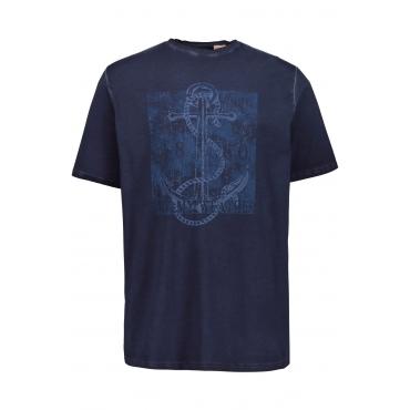 JP1880  Shirt Herren XXL, hellrot, Baumwolle, Mode in großen Größen