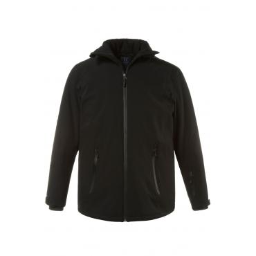 JP1880  Skijacke Herren XXL, schwarz, Polyester, Mode in großen Größen