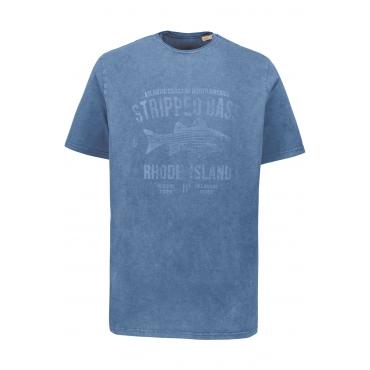 JP1880  T-Shirt Herren XXL, apfelgrün, Baumwolle, Mode in großen Größen
