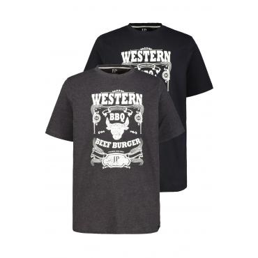 JP1880  T-Shirts Herren XXL,, Baumwolle, Mode in großen Größen