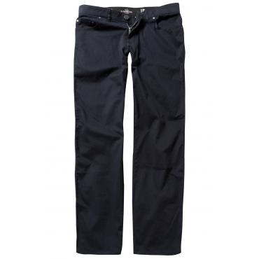 JP1880  Twillhose Herren 62, dunkel marine, Baumwolle, Mode in großen Größen