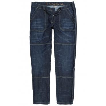 JP1880 Jeanshose Herren, blue, Mode in großen Größen