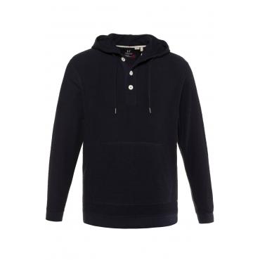 JP1880 Kapuzen-Sweatshirt Herren, navy, Mode in großen Größen