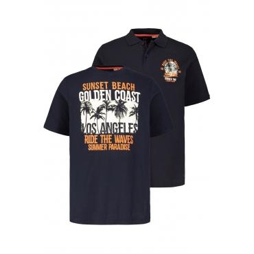 JP1880  Set - Tshirt Herren L, navy, Mode in großen Größen
