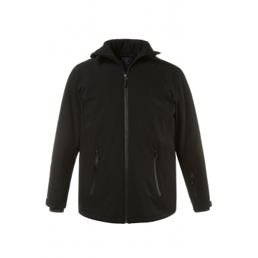 JP1880  Ski-Jacke Herren XXL, schwarz, Mode in großen Größen