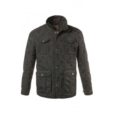 JP1880  Stepp-Jacke Herren XXL, khaki, Mode in großen Größen