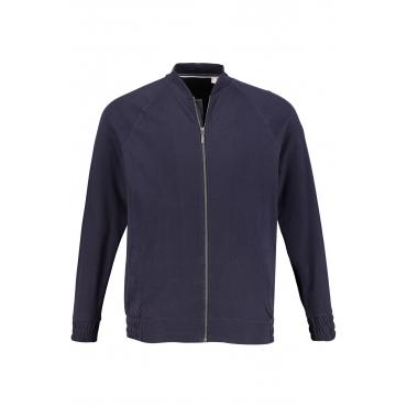 JP1880 Sweatshirt-Jacke Herren, navy, Mode in großen Größen