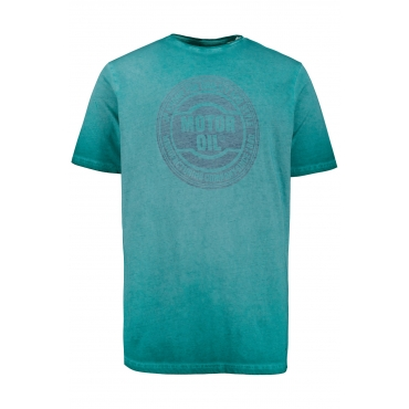 JP1880  T-Shirt Herren XXL, dunkelcyan, Baumwolle, Mode in großen Größen