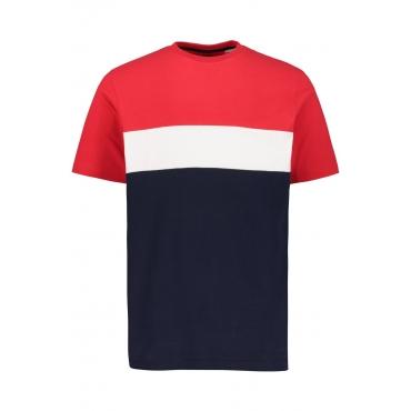 JP1880  T-Shirt Herren XXL, navy, Baumwolle, Mode in großen Größen