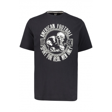 JP1880 T-Shirts Herren, schwarz, Mode in großen Größen