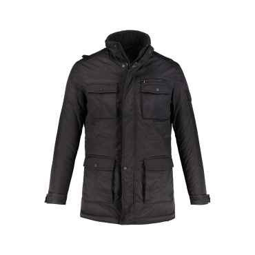 JP1880 Thermo-Jacke Herren, schwarz, Mode in großen Größen