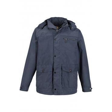 JP1880  Thermojacke Herren XXL, blue, Mode in großen Größen