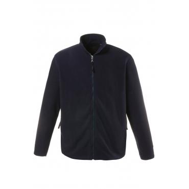 JP1880 Vlies-Jacke Herren, summerblue, Mode in großen Größen