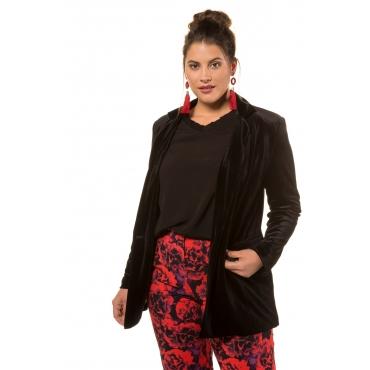 Studio Untold  Blazer-Jacke Damen 52, schwarz, Mode in großen Größen