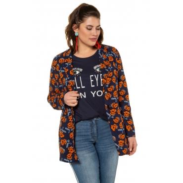 Studio Untold  Blazer-Jacke Damen 54, tiefblau, Mode in großen Größen