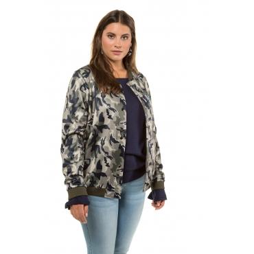 Studio Untold Bomber Jacket Damen, multicolor, Mode in großen Größen