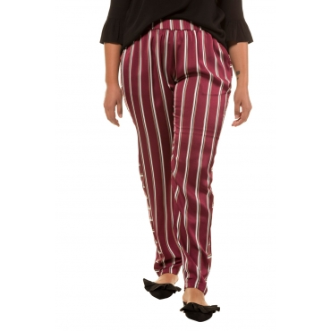 Studio Untold  Hose Damen 54, multicolor, Polyester, Mode in großen Größen