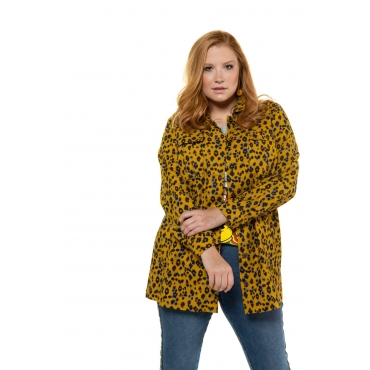 Studio Untold  Jacke Damen 54/56, senfgelb, Baumwolle, Mode in großen Größen