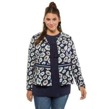 Studio Untold Jacke Damen, tiefblau, Viskose, Mode in großen Größen