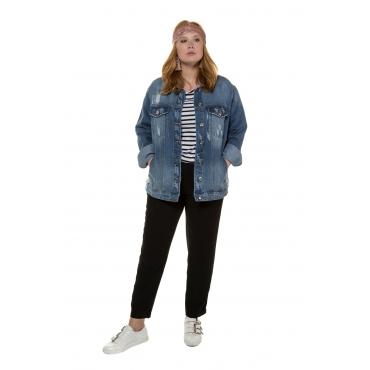 Studio Untold  Jeansjacke Damen Größe 52, blue denim, Mode in großen Größen