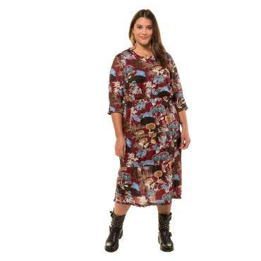 Studio Untold  Kleid Damen 54/56, multicolor, Polyester, Mode in großen Größen