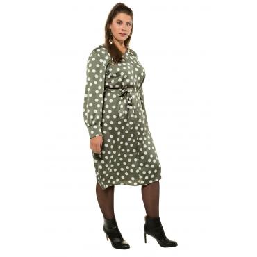 Studio Untold  Kleid Damen Größe 54/56, thymian, Mode in großen Größen