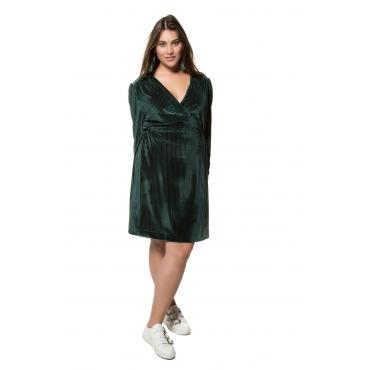 Studio Untold Kleid Damen, dunkelgrün, Polyester, Mode in großen Größen