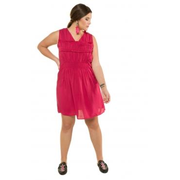 Studio Untold  Kleid Damen 54, himbeere, Viskose, Mode in großen Größen