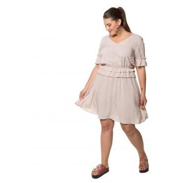 Studio Untold  Kleid Damen 54, multicolor, Viskose, Mode in großen Größen