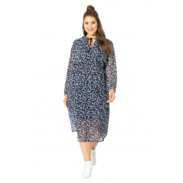 Studio Untold Kleid Damen, schwarz, Polyester, Mode in großen Größen
