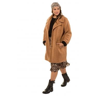 Studio Untold  Mantel Damen Größe 54/56, camel-braun, Mode in großen Größen