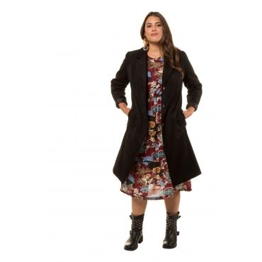 Studio Untold  Mantel Damen Größe 50, schwarz, Mode in großen Größen
