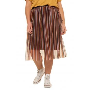 Studio Untold Plisseerock Damen, multicolor, Polyester, Mode in großen Größen
