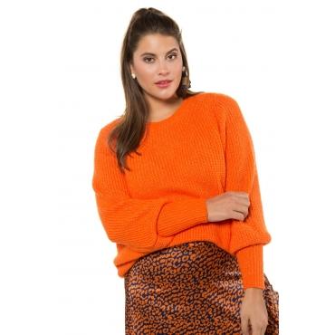 Studio Untold  Pullover Damen 54/56, mandarine, Polyacryl, Mode in großen Größen