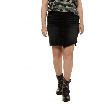 Studio Untold  Rock Damen 54, black, Baumwolle, Mode in großen Größen