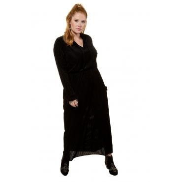Studio Untold Samtkleid Damen, schwarz, Polyester, Mode in großen Größen